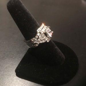 New double ring wedding set